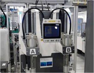 Premier moulage de pièce optique en silicone